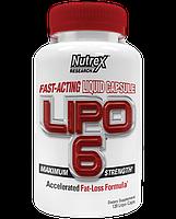 Nutrex Lipo-6 120 liqui-caps, фото 1