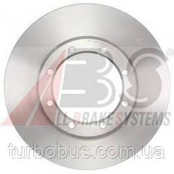 Диск тормозной задний (спарка) (Т35) на Рено Мастер III (2010>) A.B.S. (Нидерланды) ABS18184