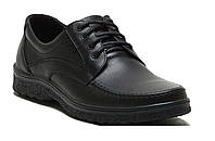 Мужские кожаные туфли шнурок 003