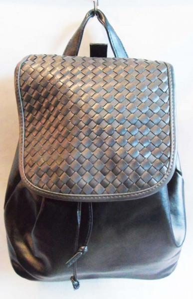 Модний рюкзак колір сірий