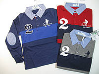 Рубашка-поло для мальчиков, размеры 6,16, лет, арт. WY-208