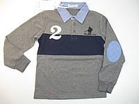 Рубашка-поло для мальчиков, размеры6,10,16, лет, арт. WY-208