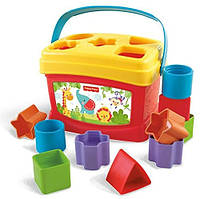 Ведерко - сортер Fisher-Price Brilliant Basics Baby's First Blocks, фото 1