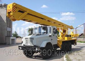 Аренда автовышки 25 метров в Киеве