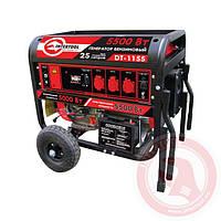 Генератор бензиновый макс. мощн. 6 кВт., ном. 5,5 кВт., электрический и ручной пуск INTERTOOL DT-1155