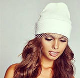 Вуаль шляпная, белый (50 см), фото 4