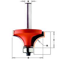 Фреза радиусная с нижним подшипником, R = 4,75  мм.