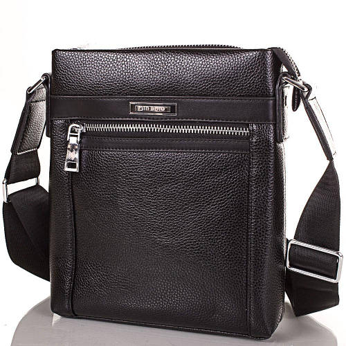 Привлекательная мужская сумка из качественного кожезаменителя JIN DIAO (ДЖИН ДИАО), SHI6843-2