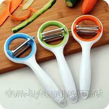 Овощечистка нож Twin Blade Rotary Multi Peeler