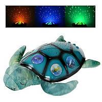 Ночник - проектор YJ 3 Черепаха Limo Toy