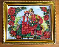 """Картина бисером / Подарок для дорогих и близких """"Украинский стиль"""", фото 1"""