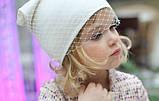 Вуаль шляпная, белый (50 см), фото 6