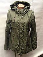 Осенняя женская куртка парка