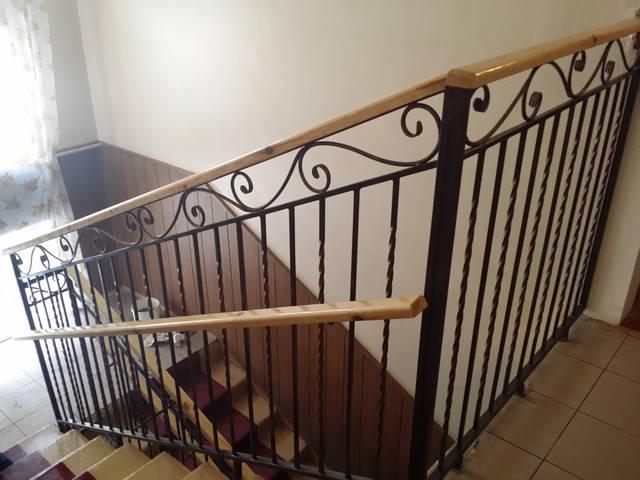 Кованые перила для лестниц 1