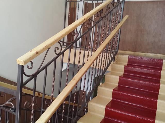 Кованые перила для лестниц 4