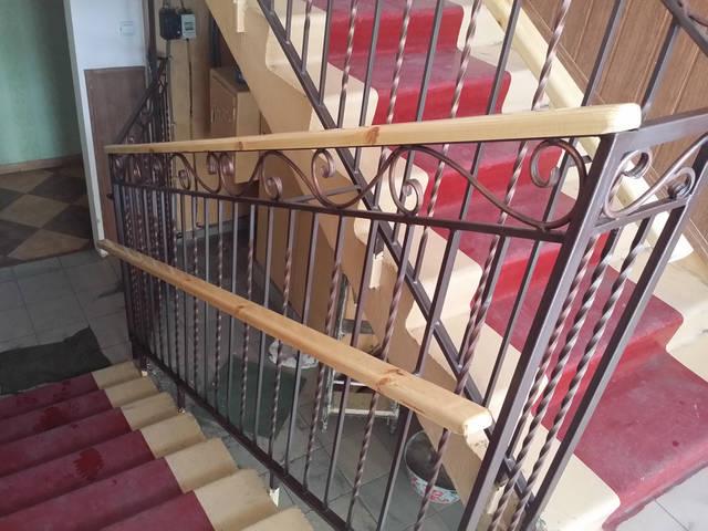Кованые перила для лестниц 5