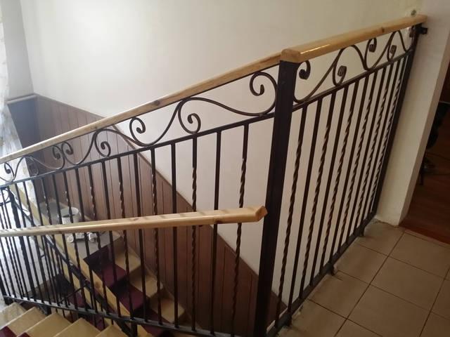 Кованые перила для лестниц 6