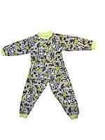 Пижама на мальчика интерлок 28 размер