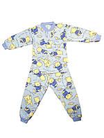 Пижама на мальчика интерлок 28 размер с мишкой