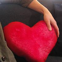 Подушка игрушка в виде сердца 50 см
