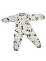 Пижама на мальчика интерлок 28 размер с котятами