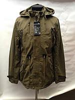 Стильная мужская куртка парка весенне-осенняя