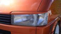 Накладки на фары Volkswagen T4 (Прямые), Реснички Т4