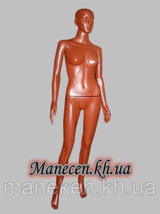 Манекен женский в полный рост Сиваян терракот, фото 2