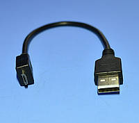 Шнур шт.міcro USB-5pin - шт.USB-A Cabletech standart 0.2м  KPO3962-0.2