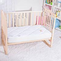 Наматрасник стеганый детский ИДЕЯ 60*120 в кроватку