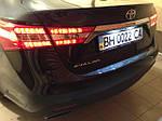 """НАШИ РАБОТЫ: Toyota AVALON NEW-2015 установка ксенона и """"диодизация"""""""