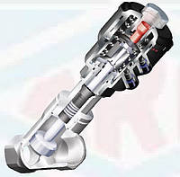 Отсечные 2/2 ходовые пневмоклапаны с наклонным штоком ARI-Stevi® AS 350