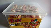 Жевательный мармелад Trolli Mini Burger мини бургеры 600 г, фото 1