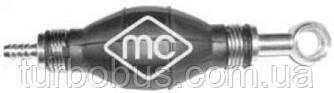 Насос подкачки топлива прямой-кольцо под болт (груша) 8mm Renault Master Metalcaucho MC02012