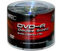 DVD-R диски EMTEC емкостью 9.4Gb(240 минут)