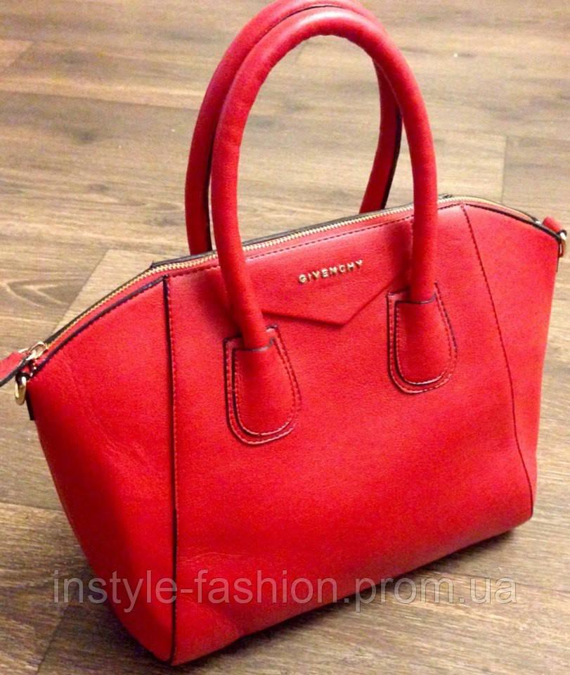 Сумка Givenchy красная живанши - Сумки брендовые, кошельки, очки, женская  одежда InStyle в 966599c8821