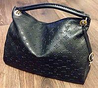 Сумка Louis Vuitton черная, эко-кожа