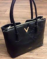 Сумка Louis Vuitton черная,на молнии