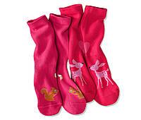 Носки с хлопком для девочки, 2 пары в упак.,  ГЕРМАНИЯ TCM TCHIBO