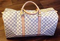 Сумка дорожная Louis Vuitton белая , фото 1