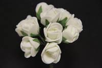 5632-1-3-1  белый упаковка 12 букетов (144шт)