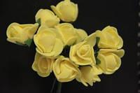 5632-1-3-1  желтый упаковка 12 букетов (144шт)