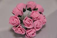 5632-1-3-1  розовые упаковка 12 букетов (144шт)