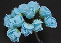 5632-1-3-1 голубой упаковка 12 букетов (144шт)