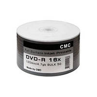 DVD-R и DVD+R CMC 4.7Gb Inkjet Printable (white)