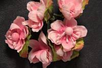 5634-1-9  розовый  упаковка 12 букетов (72шт)
