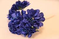 5635-1-17 синий  упаковка 10 букетов  (60шт)