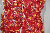 Незабудка букет 2015-1-5-1 красный  упаковка 12 букетов