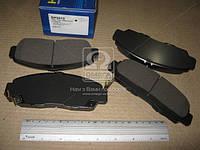 Колодка тормозная HONDA FR-V 1.7SOHC VTEC, 2.0DOHCI VTEC, 2.2CRDI 05- передний (производитель SANGSIN) SP2012