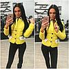 Стеганная курточка с брошкой Шанель, фото 2